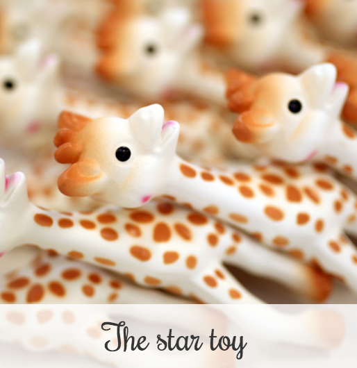 Sophie la girafe the star toy